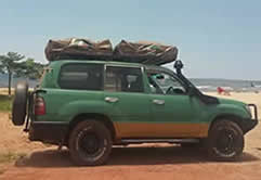 Double Roof Top Tent Cruiser in Uganda