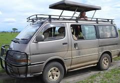 Toyota Hiace Hire in Uganda