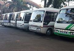 Coaster Bus Rentals in Uganda